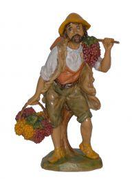 Pastore con uva