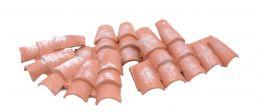 4 tetti di  plastica