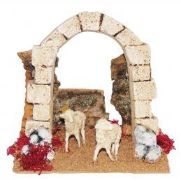 Arco con pecore