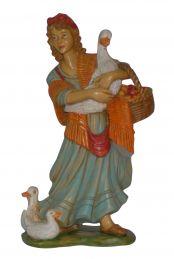 Pastore con anatra