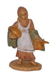 Pastore donna con anfore